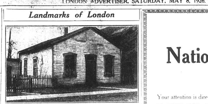 The Fugitive Slave Chapel – London, Ontario