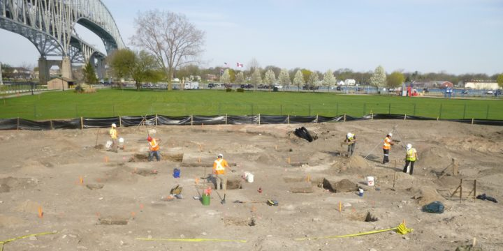 In the News: Waterfront Park Archaeology, Village of Point Edward