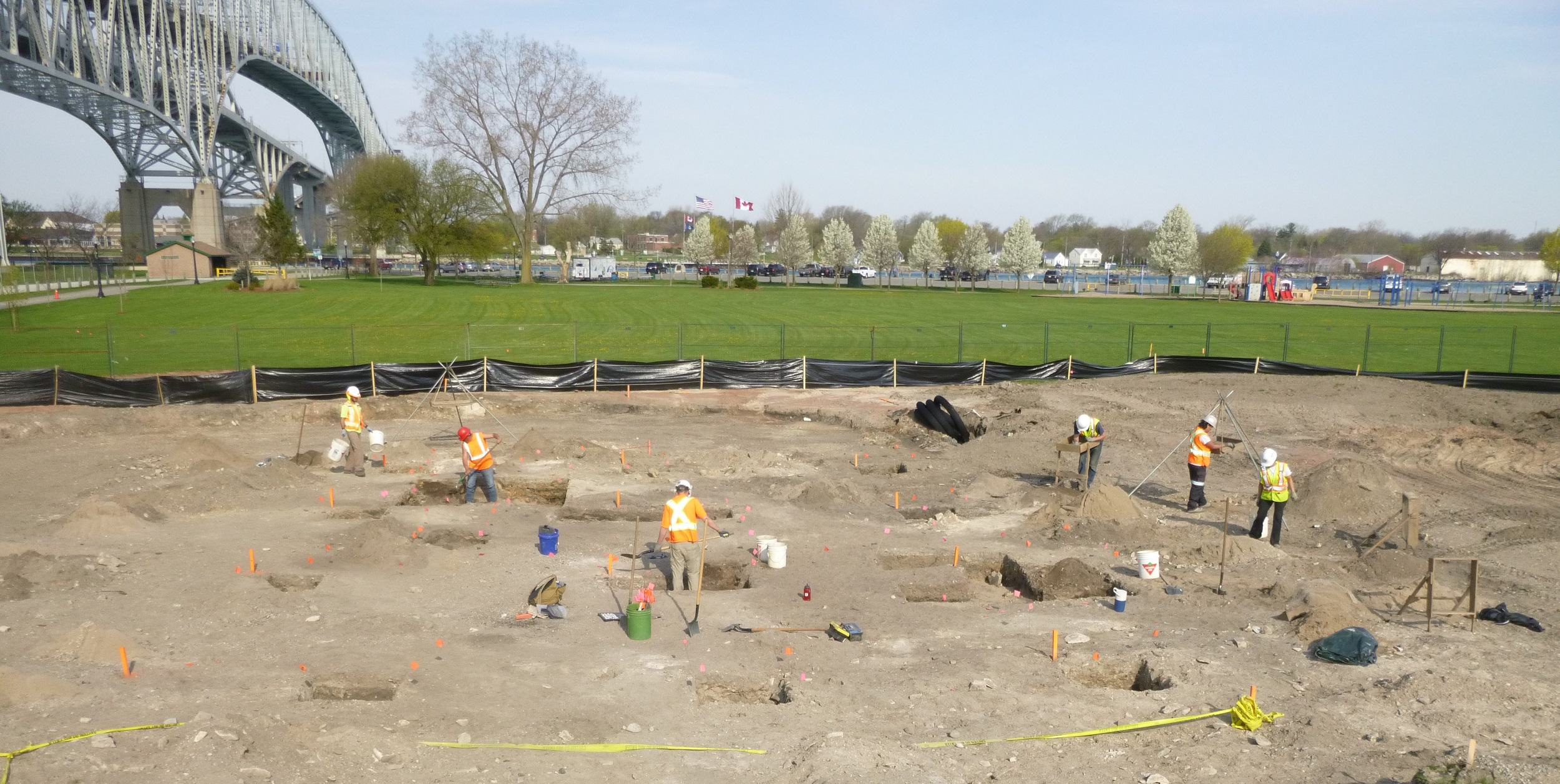 Waterfront Park Archaeology
